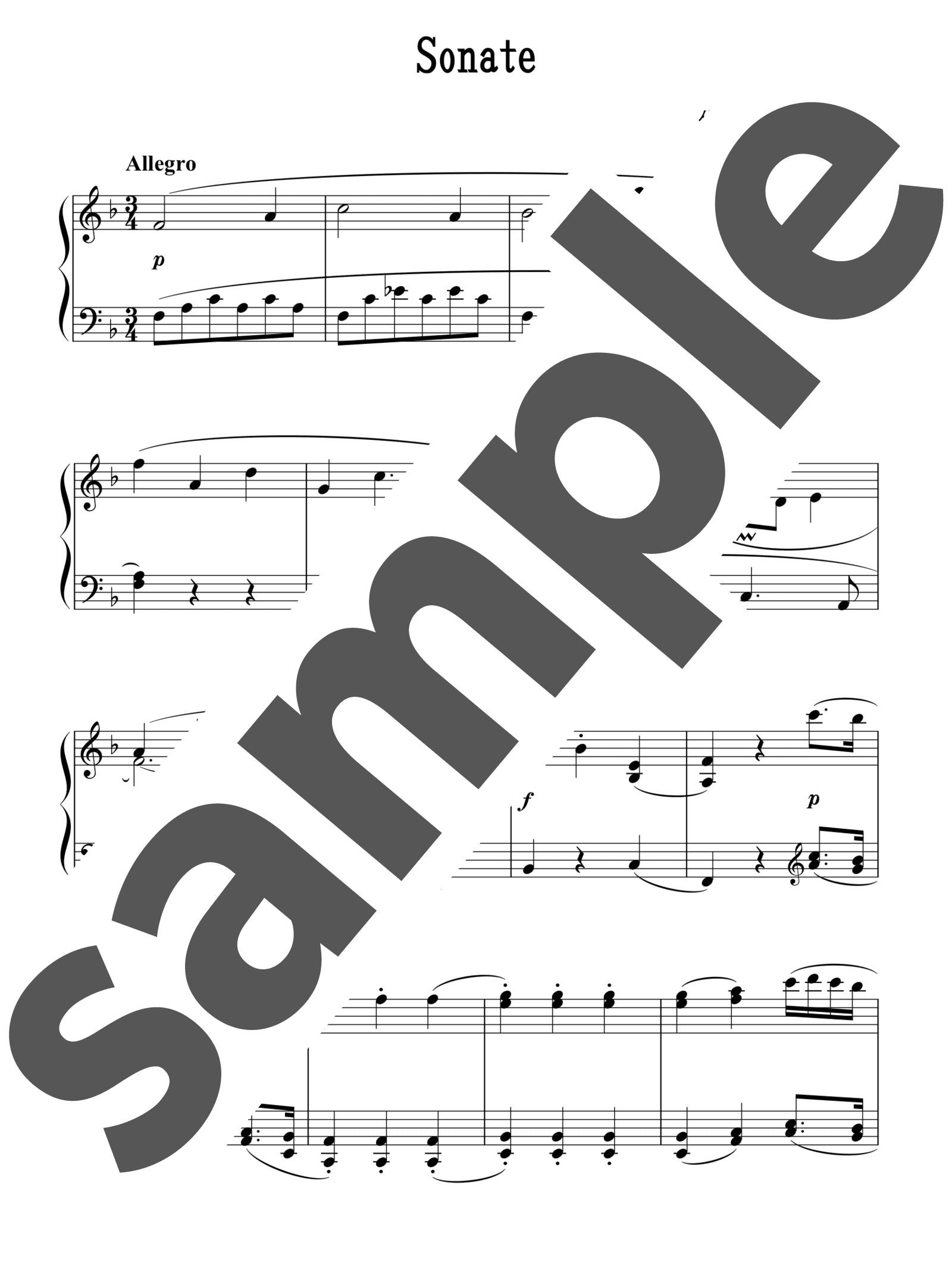 度 難易 モーツァルト ソナタ ピアノ